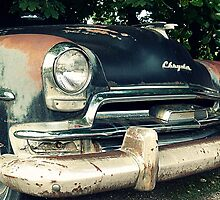 Rust and Black Chrysler by jemvistaprint