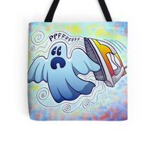 Ghost Ironing Nightmare Tote Bag