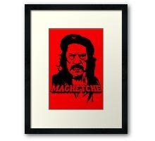 MachetChe Framed Print