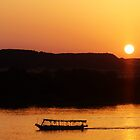 Nile Sunset by Joanne Pickering