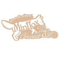 Mintfox Poster Tea and Chocolate (brown white version) by ImpyImp