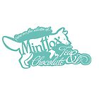 Mintfox Poster Tea and Chocolate (mint white version) by ImpyImp