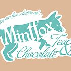 Mintfox Poster Tea and Chocolate by ImpyImp