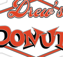 Drew's Donuts Sticker