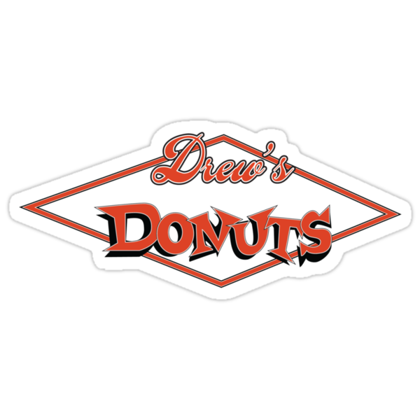 Drew's Donuts by ironsightdesign