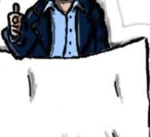Captain Jack Harkness - pocket buddy Sticker