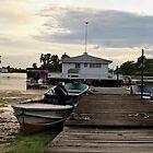 Fishing Boats by AshMik6
