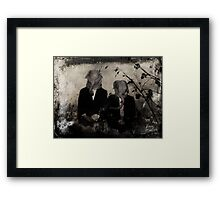 They Are Not Framed Print