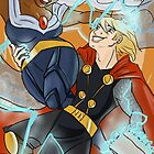 Samcedes- Thor/Storm by KirstinCreative