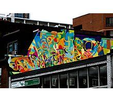 Church Street Graffiti Photographic Print