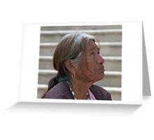 Senora, San Jose Del Cabo Greeting Card