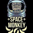 Space Monkey by HamSammy