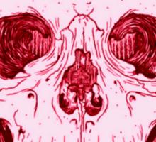 Tumblr Pink Human Skull Sticker