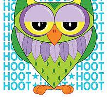 Owl - hoot, hoot by DizziDaisy