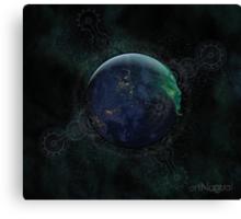 Spiritual Earth Canvas Print