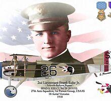 Lieutenant Frank Luke Jr. - Arizona Ballon Buster by A. Hermann