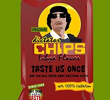 Dictator Chips Lybia Flavor by Virginie Moerenhout