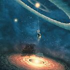 My dream house is in another galaxy by Paula Belle Flores