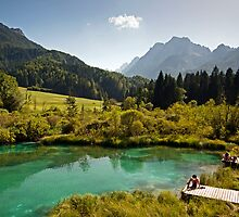 Natural Reserve Zelenci Slovenia by LexiTheMonster