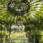 Gazebo in the Secret Gardens by John Gaffen