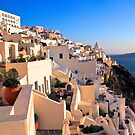 Fira, Santorini by Barbara  Brown