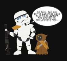 Not the Droids we are looking for by SCoffin