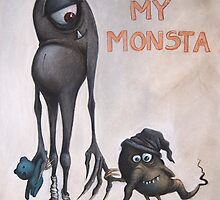 me and my monsta by nimmerlein