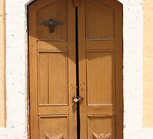 Door of a Stone Church by rhamm