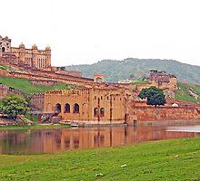 Amer Fort Jaipur by kumarrishi