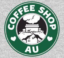 That Coffee Shop AU feeling by jeremia