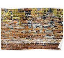 Brick Wall 4 Poster