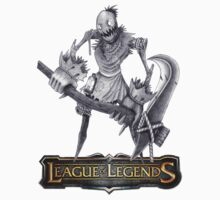 League of Legends - Fiddlesticks (old logo) by falcon333