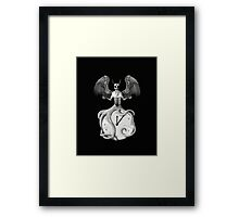 Time and Tentacles Framed Print