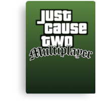 JCMP/GTA San Andreas Logo Canvas Print