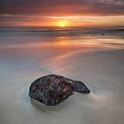 Sunrise at Boat Harbour, Tasmania by Jim Lovell