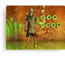 Who Ordered The Toxic Sludge? Canvas Print