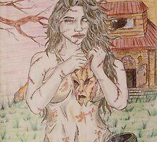 Bikini Leatherface by dragon102681