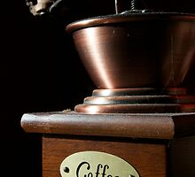 Dusty Sunlit Coffee Grinder by Thomas Stayner
