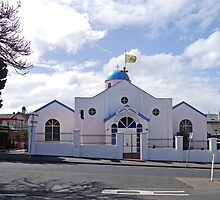 Greek Orthodox Church, Hobart, Tasmania, Australia by Margaret  Hyde