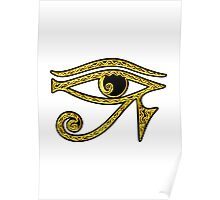EYE OF HORUS - Protection Amulet Poster