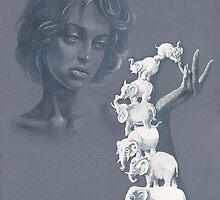 """SevenElephants""  by Sergei Rukavishnikov by Alenka Co"