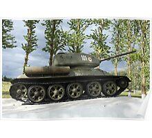 tank T34 Poster