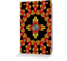 Zia Sun - Zia Pueblo - New Mexico Greeting Card