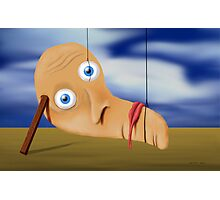 SURREALISM - The Melting Face Photographic Print