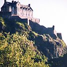 Edinburgh Castle, Scotland by AngieDavies