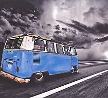 Storm Chasing by Sharon Poulton