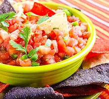 Salsa and Chips by Photopa