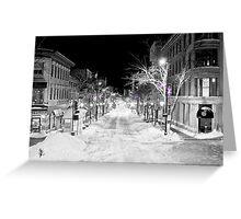 State Street Madison Greeting Card