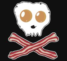 Bacon & Eggs Skull by soulthrow
