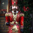 Christmas Soldier Statue by Heidi Stewart